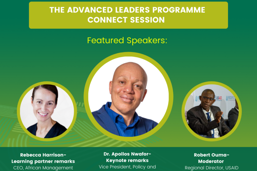 CALA's Advanced Leaders Programme Connect Session